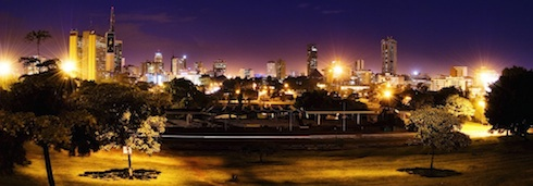 Nairobi Skyline by Mutua Matheka